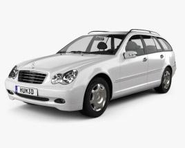 Mercedes-Benz C-Class (W203) estate 2005 3D model
