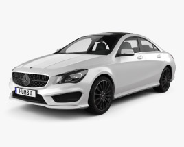 Mercedes-Benz CLA AMG Sports Package 2013 3D model