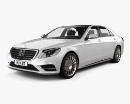 Mercedes-Benz S-Class (W222) 2014 3D model
