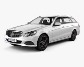 Mercedes-Benz E-Class estate (S212) 2014 3D model