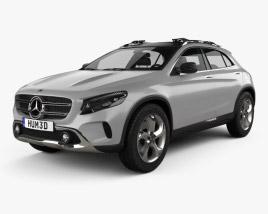 Mercedes-Benz GLA-class concept 2013 3D model