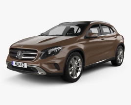 Mercedes-Benz GLA-class 2014 3D model