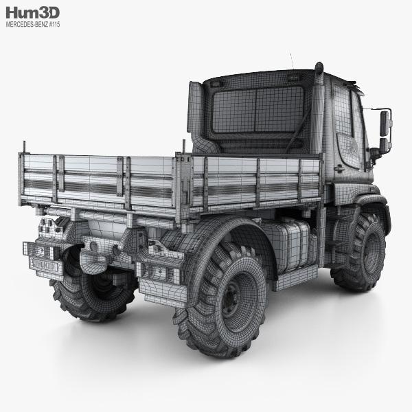Mercedes-Benz Unimog U300 2012 3D model - Vehicles on Hum3D