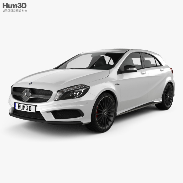 Mercedes-Benz A-Class AMG 2013 3D Model