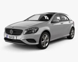 Mercedes-Benz A-class (W176) Urban Package 2013 3D model
