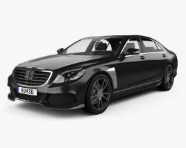 Mercedes-Benz S-Class (W222) Brabus 2014 3D model