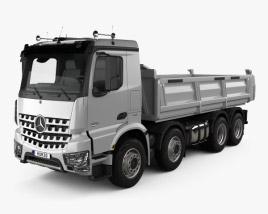 Mercedes-Benz Arocs Tipper Truck 2013 3D model