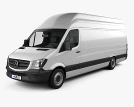 Mercedes-Benz Sprinter Panel Van ELWB SHR 2013 3D model