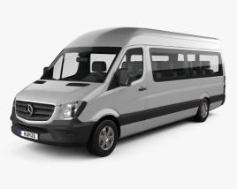 Mercedes-Benz Sprinter Passenger Van LWB HR 2013 3D model
