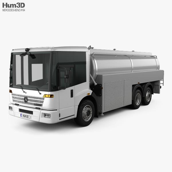 Mercedes-Benz Econic Tanker Truck 2013 3D Model