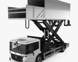 Mercedes-Benz Econic Airport Lift Platform Truck 2013 3D model