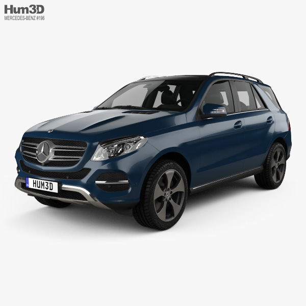 Mercedes-Benz GLE-Class (W166) 2014 3D Model