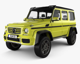 Mercedes-Benz G-Class 4x4-2 2015 3D model