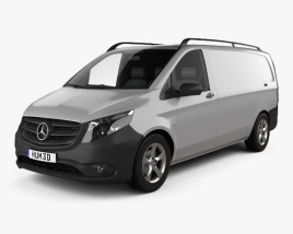Mercedes-Benz Vito (W447) Panel Van L2 2014 3D model