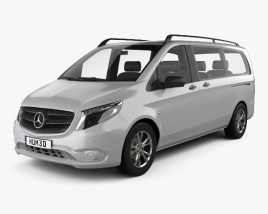 Mercedes-Benz Vito Tourer Select L2 (W447) 2014 3D model
