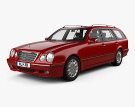 Mercedes-Benz E-class wagon 1999 3D model