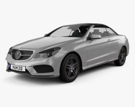 Mercedes-Benz E-Class Convertible AMG Sports Package 2014 3D model