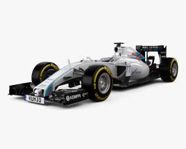 Williams FW37 2015 3D model