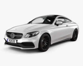 Mercedes-Benz C-Class AMG Coupe 2015 3D model