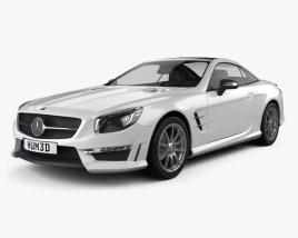 Mercedes-Benz SL-Class (R321) AMG 2013 3D model