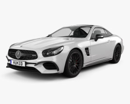 Mercedes-Benz SL-Class (R231) SL 63 AMG 2015 3D model