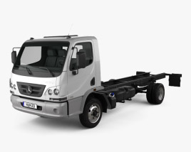 Mercedes-Benz Accelo Chassis Truck 2011 3D model