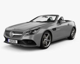 Mercedes-Benz SLC-Class 2017 3D model