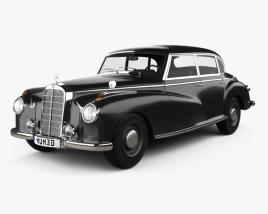 Mercedes-Benz 300 (W186) Limousine 1951 3D model