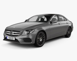 Mercedes-Benz E-class (W213) AMG Line 2016 3D model