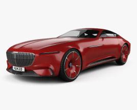 Mercedes-Benz Vision Maybach 6 2016 3D model