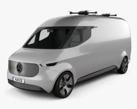 Mercedes-Benz Vision Van 2016 3D model