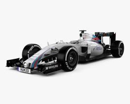 Williams FW38 2016 3D model