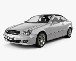 Mercedes-Benz CLK-Class (C209) Coupe 2005 3D model