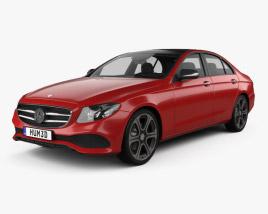 Mercedes-Benz E-Class (W213) Avantgarde Line 2016 3D model