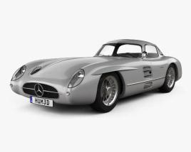Mercedes-Benz SLR 300 Uhlenhaut Coupe 1955 3D model