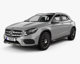 Mercedes-Benz GLA-Class (X156) AMG Line 2017 3D model