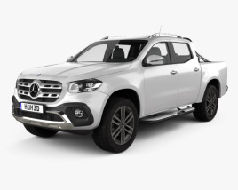 Mercedes-Benz X-Class Power 2017 3D model