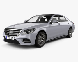 Mercedes-Benz S-class (V222) LWB AMG Line 2017 3D model