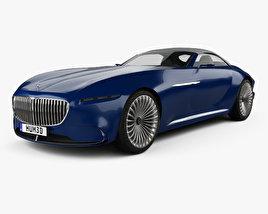 Mercedes-Benz Vision Maybach 6 cabriolet 2017 3D model