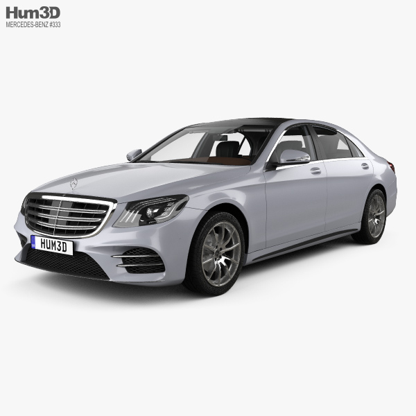 Mercedes-Benz S-class (V222) LWB AMG Line With HQ Interior