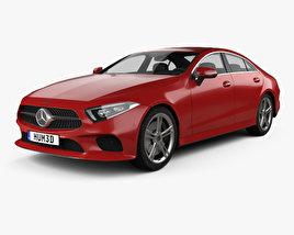 Mercedes-Benz CLS-class (C257) 2018 3D model