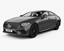 Mercedes-Benz CLS-class (C257) AMG Line 2018 3D model