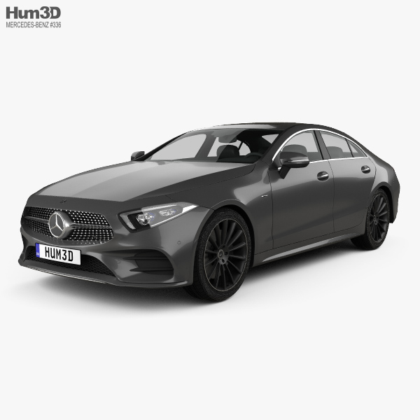 Mercedes-Benz CLS-class (C257) AMG Line 2018 3D Model