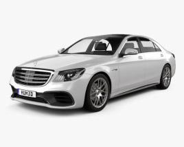 Mercedes-Benz S-class (V222) AMG 2017 3D model