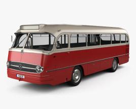 Mercedes-Benz O-321 H Bus 1954 3D model