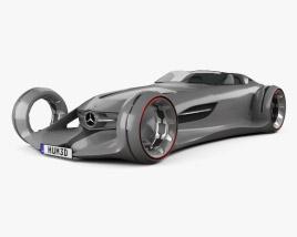 Mercedes-Benz Silver Arrow 2016 3D model