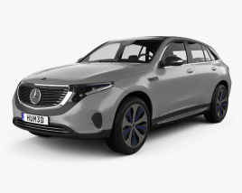 Mercedes-Benz EQC 400 2018 3D model
