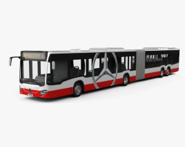 Mercedes-Benz CapaCity L 4-door Bus 2014 3D model