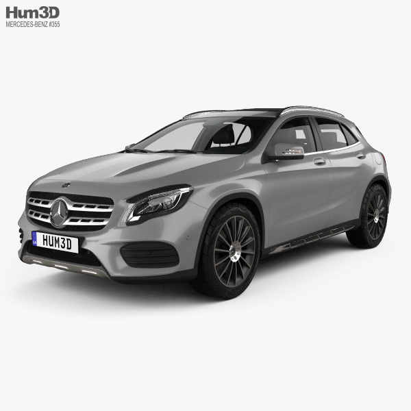 Mercedes-Benz GLA-class AMG Line With HQ Interior 2017 3D