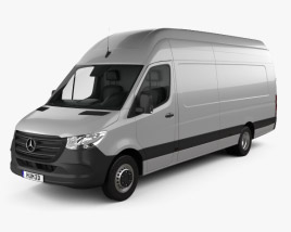 Mercedes-Benz Sprinter Panel Van L4H3 2019 3D model